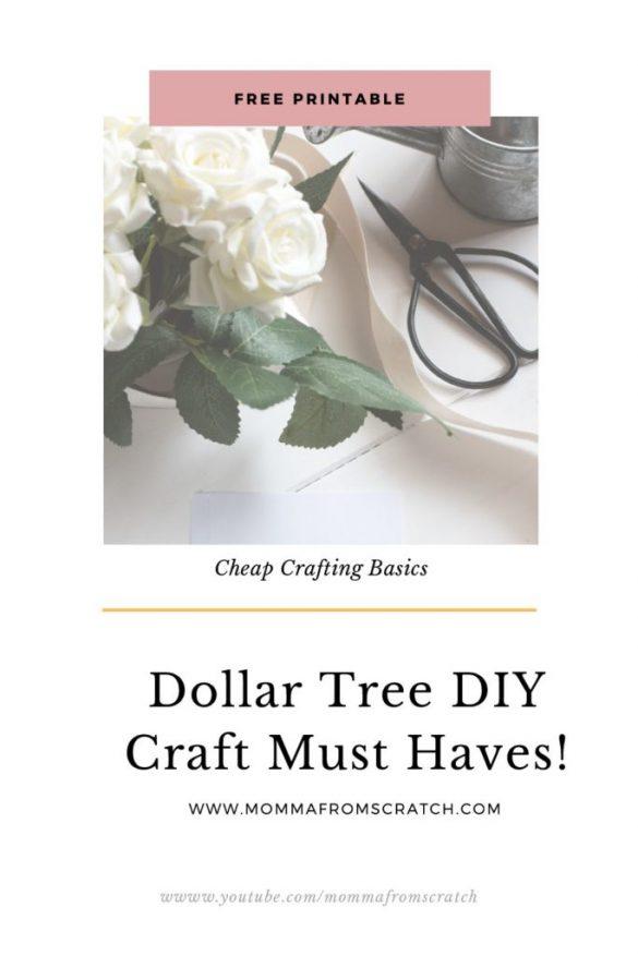 Dollar Tree Must Have Craft  Supplies