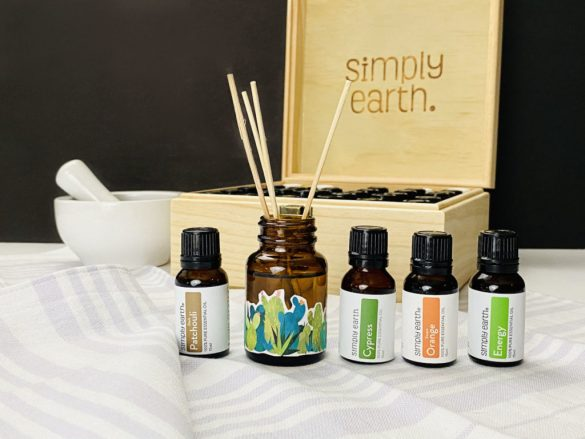 DIY Reed Diffuser with Essential Oils for Natural, Non-Toxic Home Fragrances
