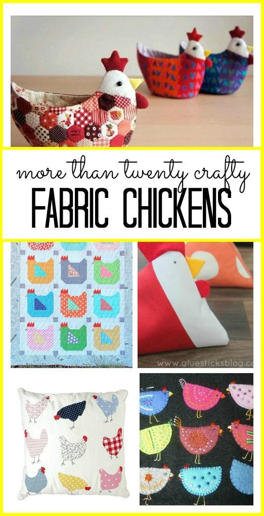 Fabric Chicken Roundup