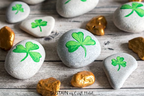 ShamROCKS and Gold Nuggets St Patrick's Day Crafts