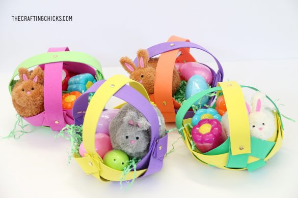 Easter Basket Kid Craft