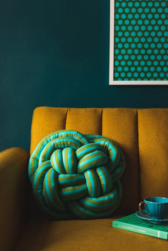 DIY Celtic Knot Pillow