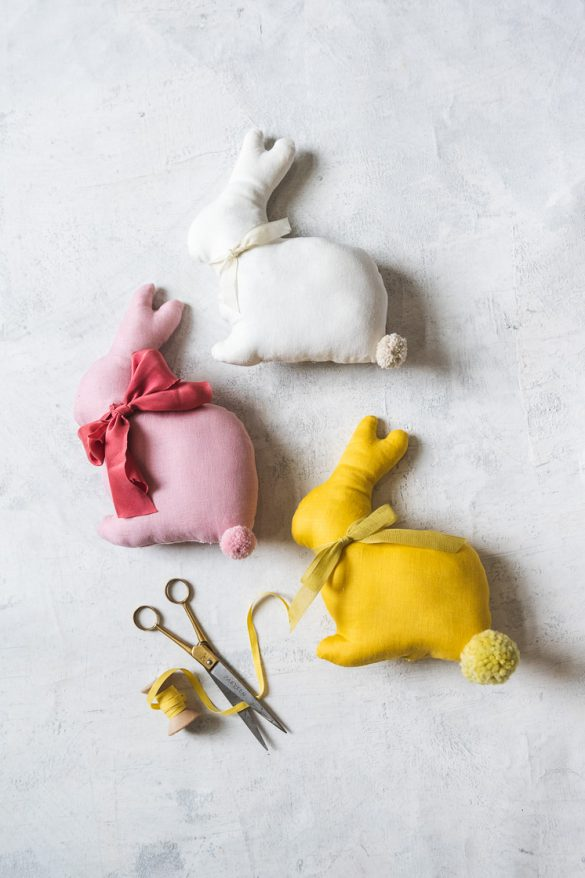 Quarantine Creativity: DIY Stuffed Easter Bunny