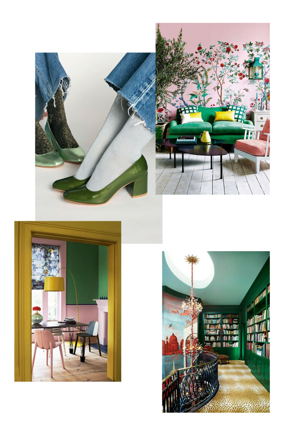 Going Green: Using green in decor