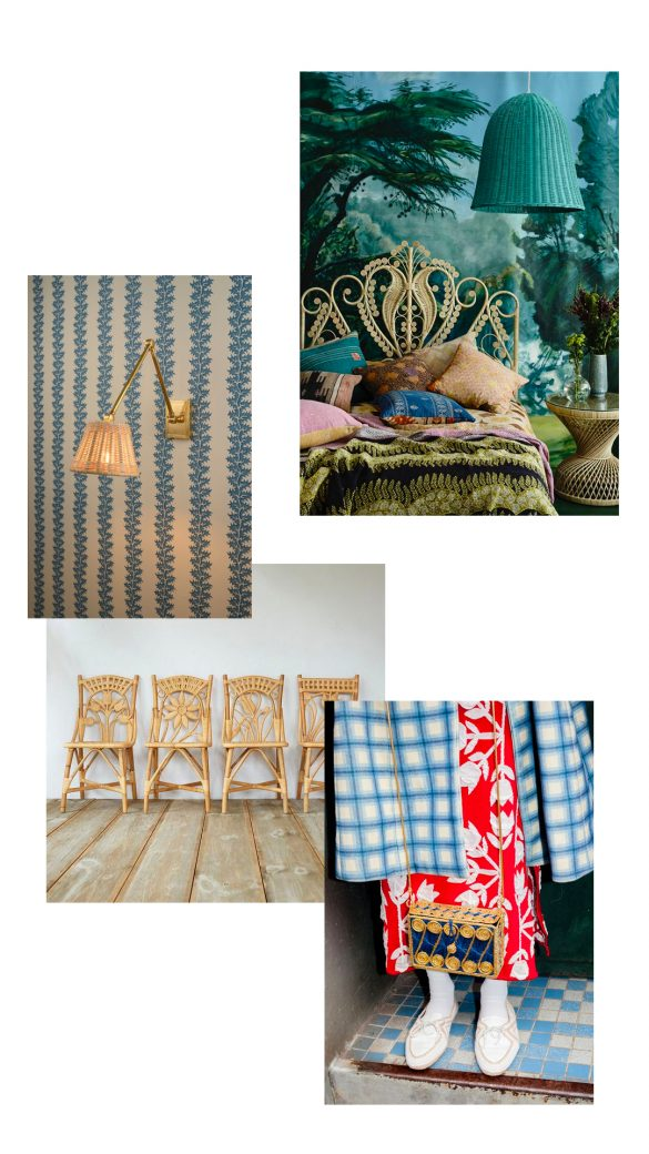 Adding Rattan Pieces to Any Room (or wardrobe!)
