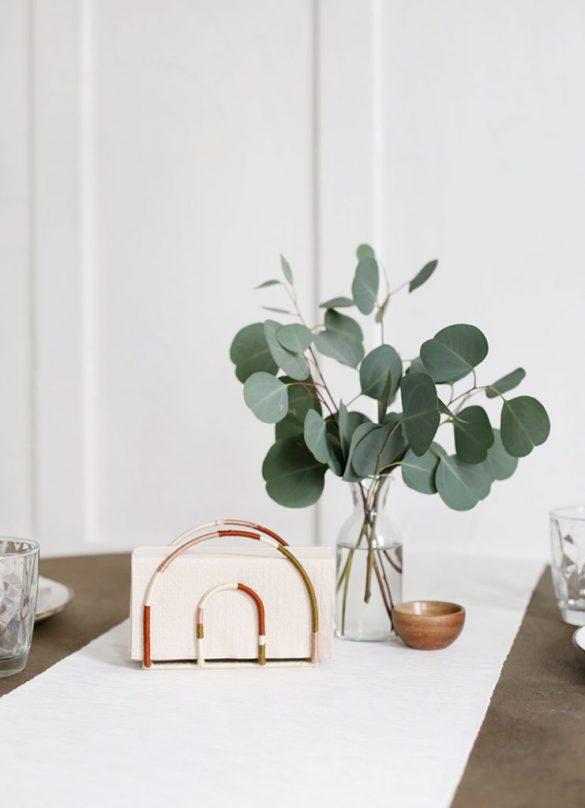 Dollar Tree DIY: Rainbow Napkin Holder
