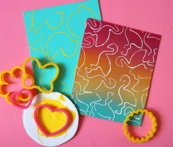 In case you missed it…..cookie cutter art….