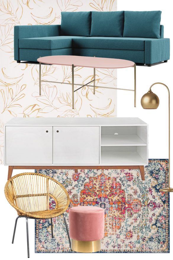 Renter-Friendly Decor Plans for Our New Space