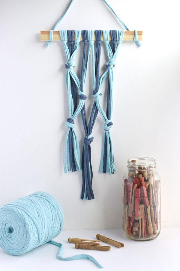 Kid-Friendly Macrame Wall Hanging