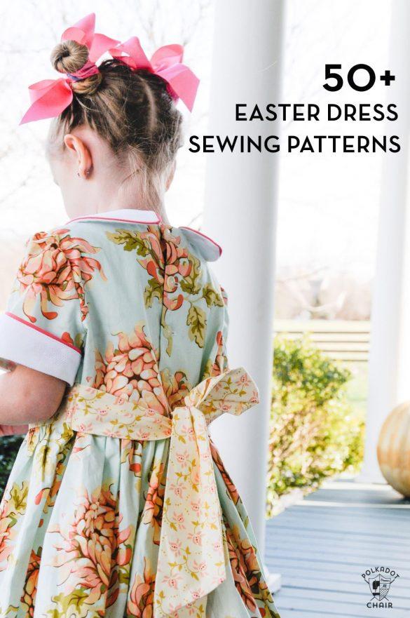 50 Easter Dress Patterns for Girls