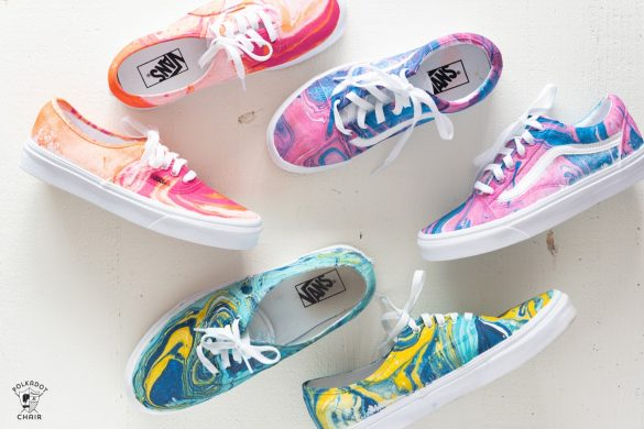 How to Hydro Dip Vans to Create Unique Custom Shoes
