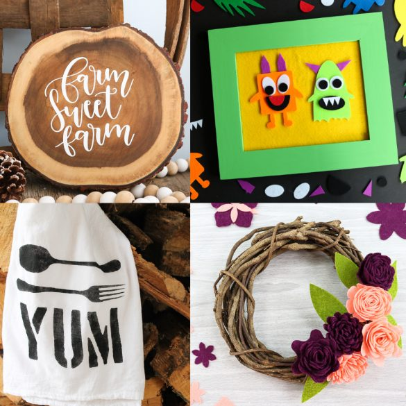 25 Cricut Project Ideas Using Things You Already Have
