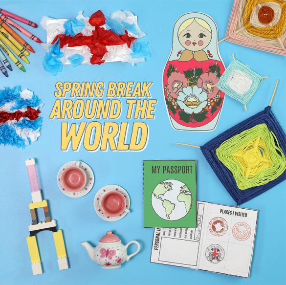 Around the World In A Week Activity for Kids