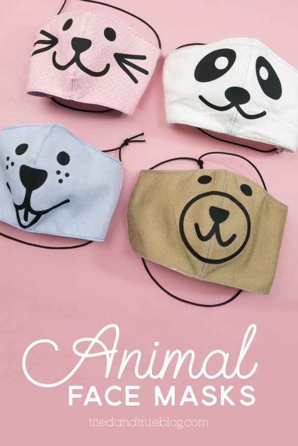 Cute Animal Face Masks