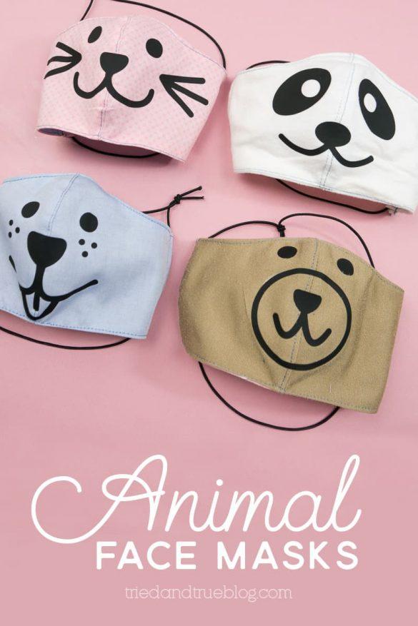 Cute Animal Face Masks