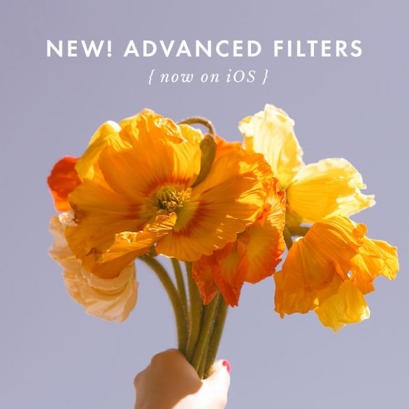 A Color Story: Introducing Advanced Filters on iOS!!