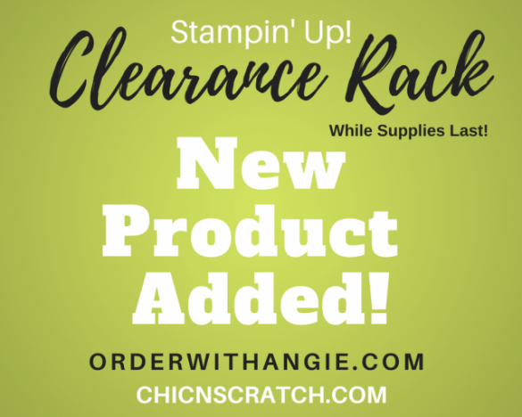Clearance Rack Refresh