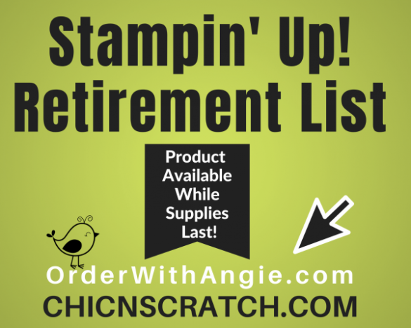 Retiring Stampin' Up! Products