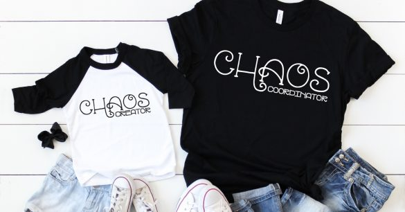 Mommy & Me: Chaos Creator / Chaos Coordinator SVG