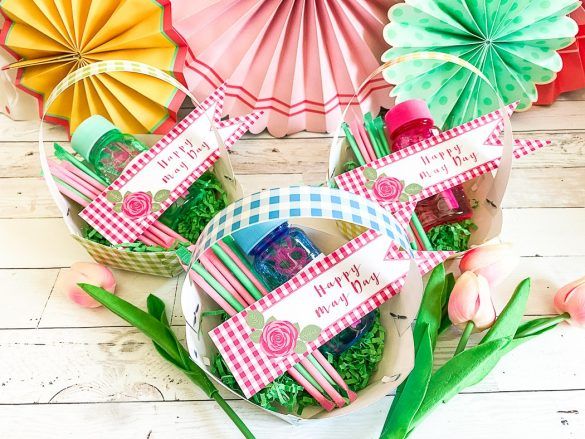 Easy May Day Baskets