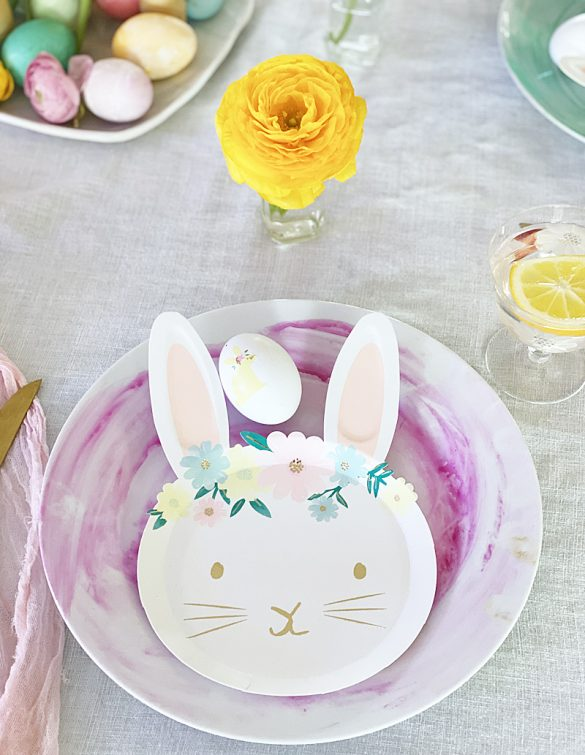 Kid Easter Bunny Brunch or Dinner Party