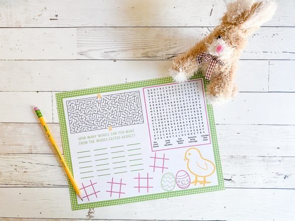 Free Printable Easter Activity Sheets