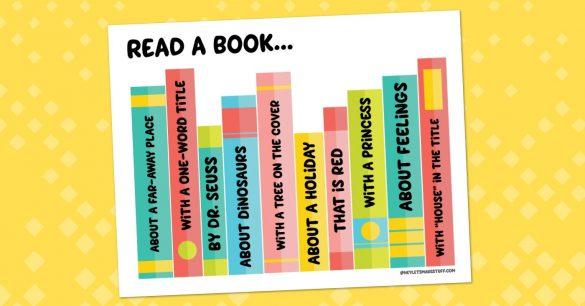 Printable Reading Challenge for Kids