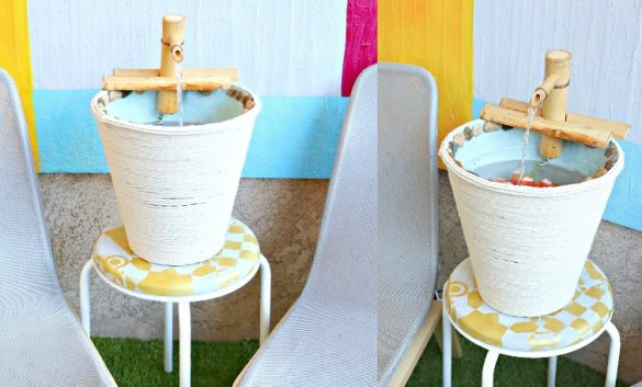 HOW TO BUILD EASY DIY WATER FOUNTAIN