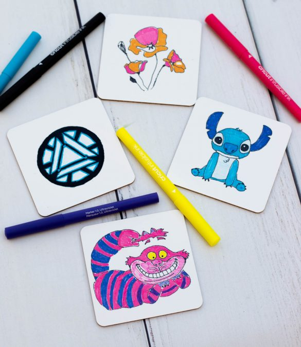 Infusible Ink: Cricut Project Using Kid's Drawings!