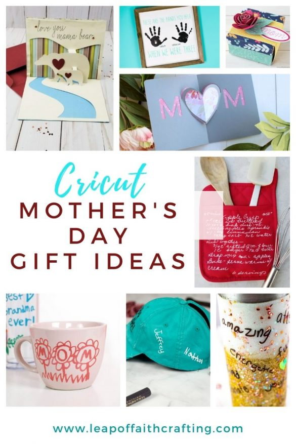 Mother's Day Gifts Using a Cricut!