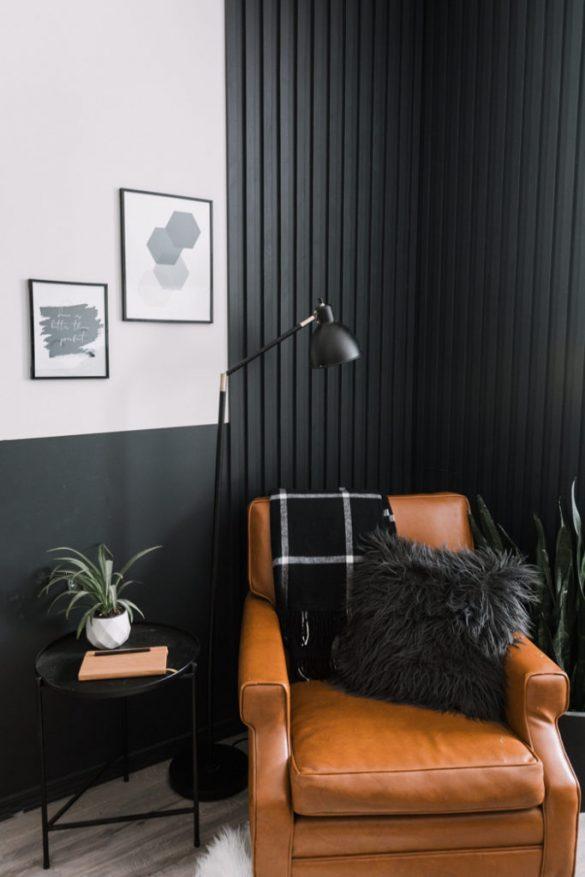 DIY Slat Accent Wall