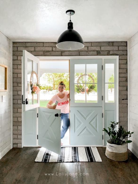 Installing Farmhouse Double Dutch Exterior Doors