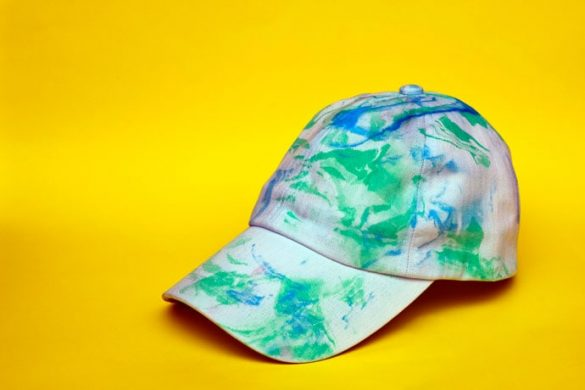 DIY Marble Design Hat – How to Marble Print 3D Surfaces