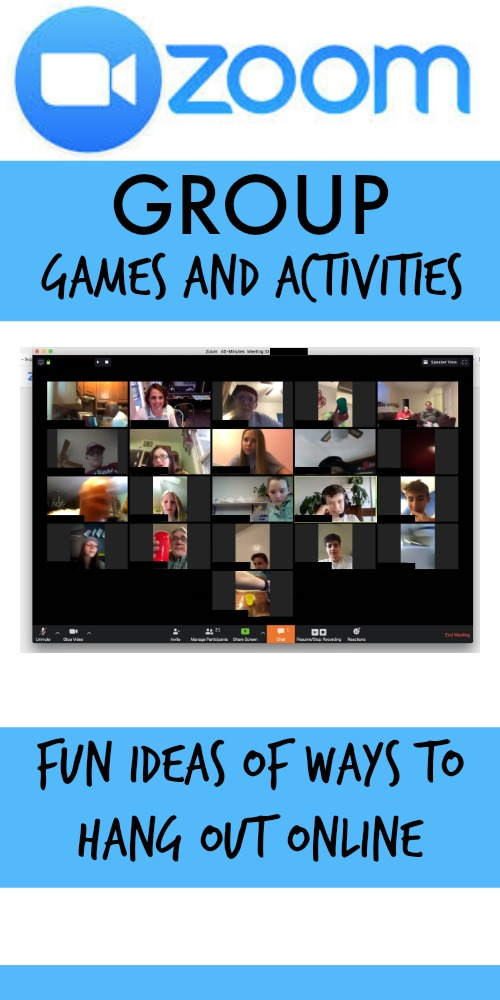 Zoom Games and Activity Ideas