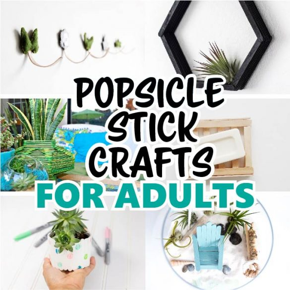Popsicle Stick Crafts for Adults