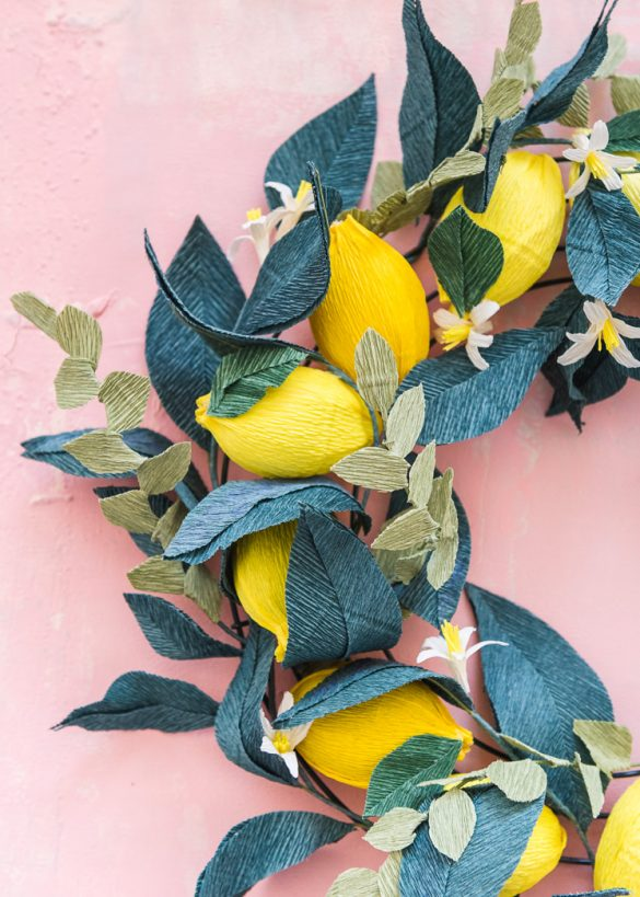 Lemon Wreath Kit Now Available!