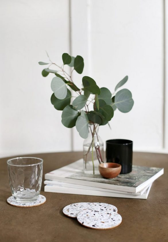 5 Minute Craft: Terrazzo Coasters