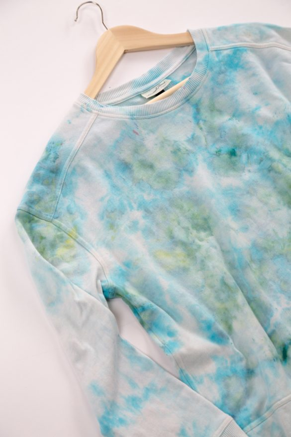 How to Ice Dye Fabric