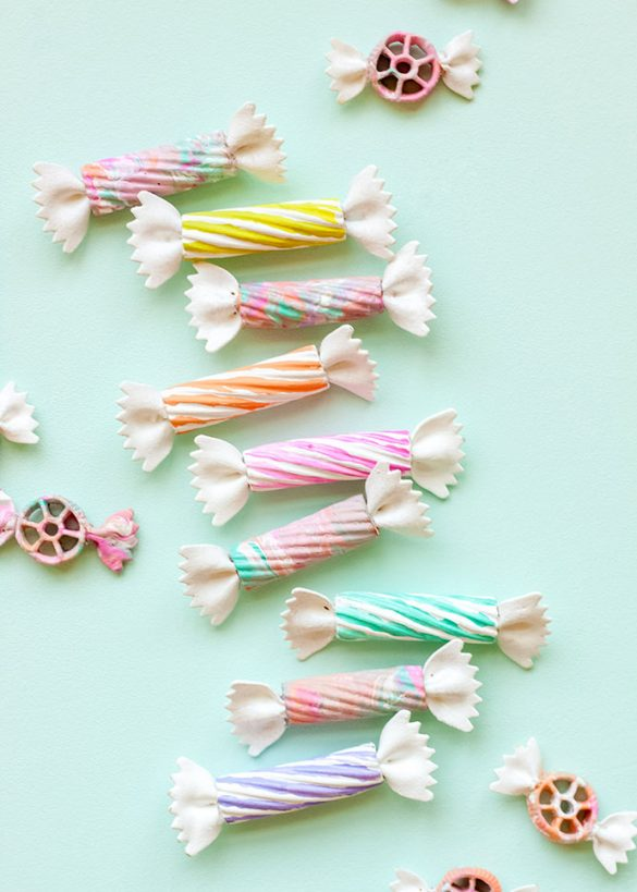 DIY Pasta Candy Shop