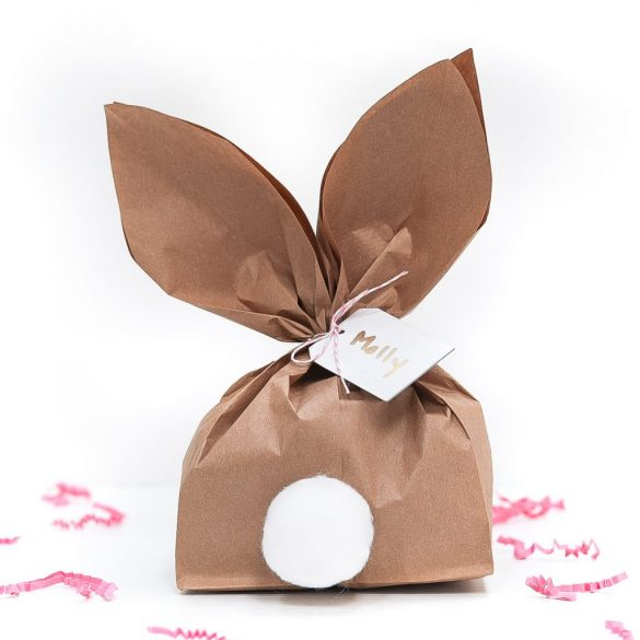 Paper Bag Bunny for Easter