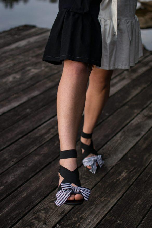 DIY Bow shoe & tutorial