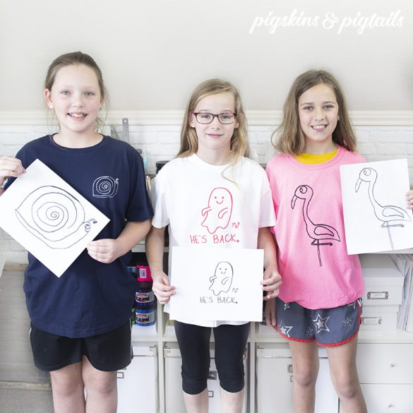 How to Turn Your Kids' Artwork into Screen Printed T-Shirts