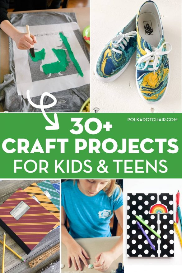 30+ Fun and Creative Craft Projects for Kids & Teens