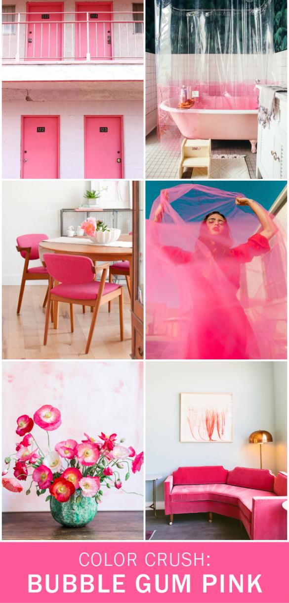 Color Crush: Bubble Gum Pink