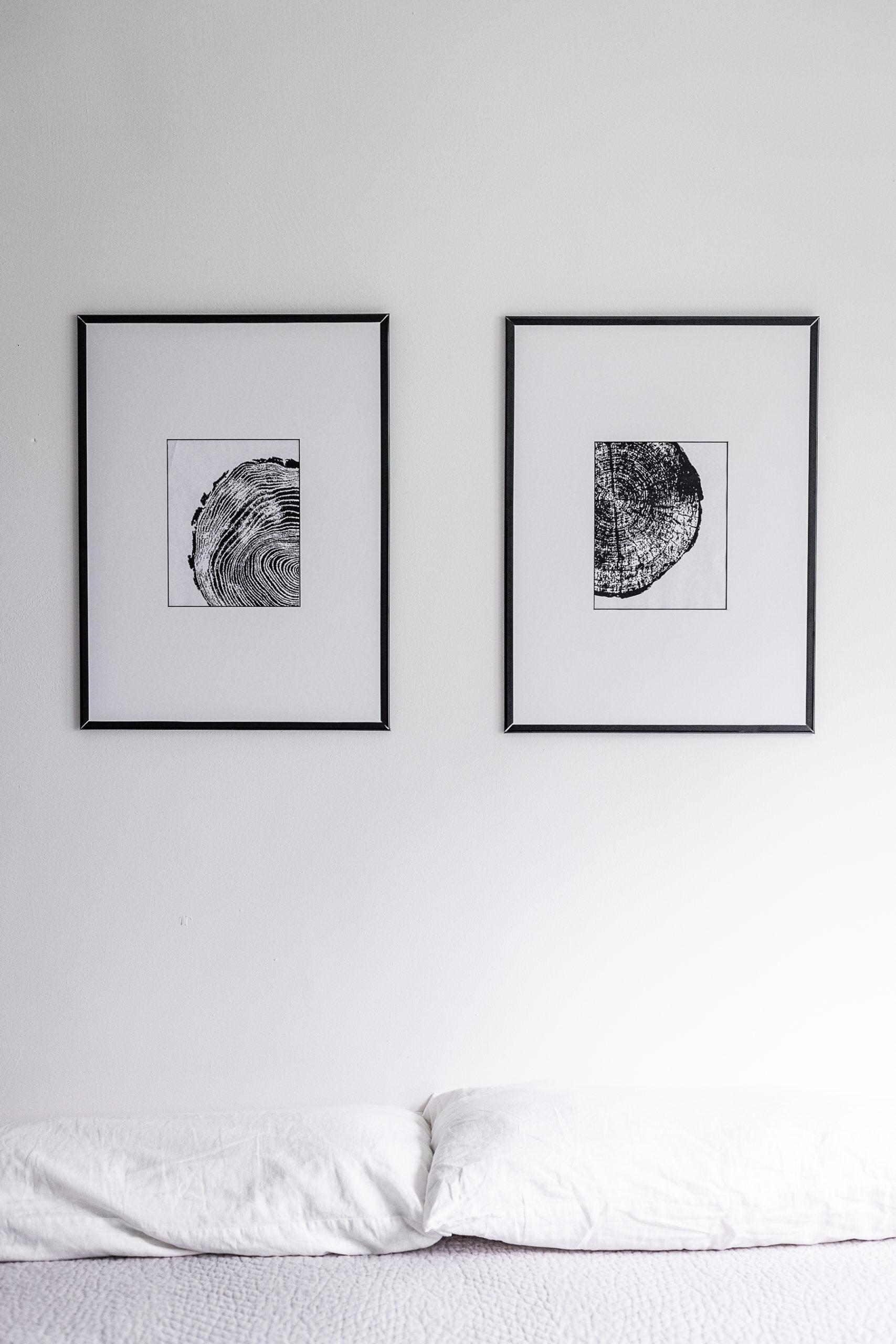 Tree Ring Art – Modern Free Printable