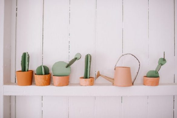 Make This Kids Cacti Garden & Watering Can