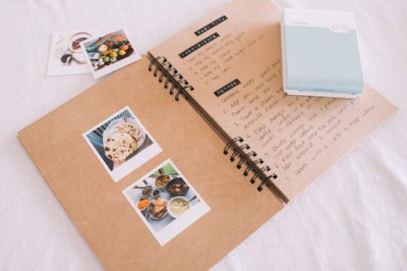 Mother's Day DIY Idea: A Photo Recipe Book!