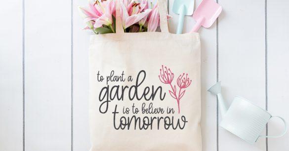 Whimsical Gardening SVG Files