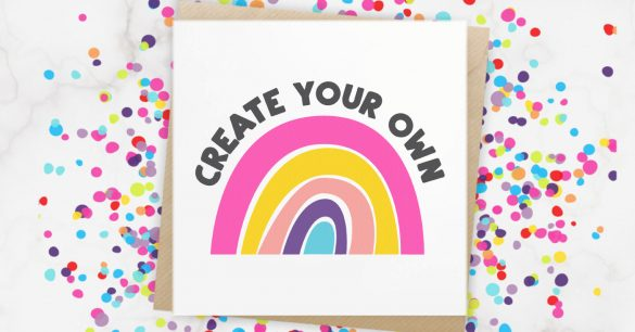 Happy Rainbow SVG Files