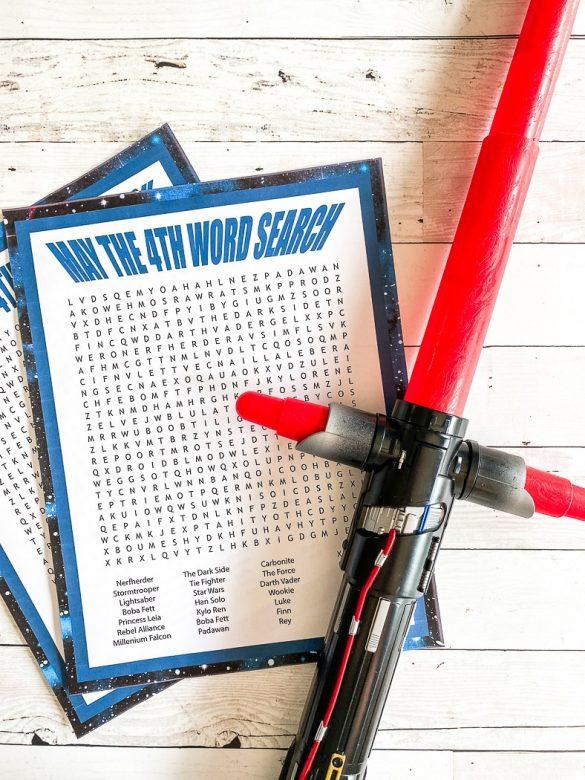 Star Wars Printable Word Search